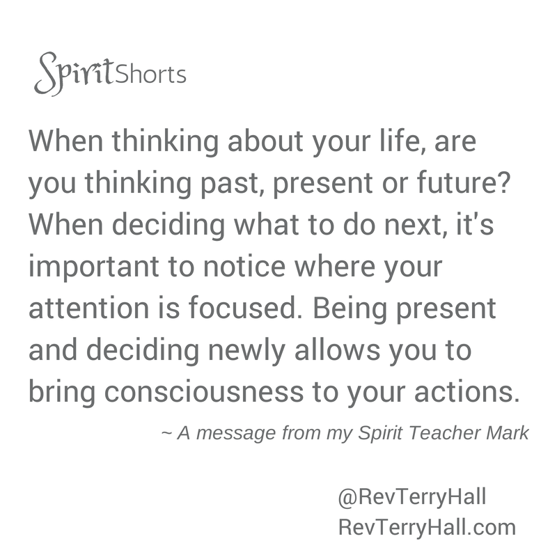 message for psychic and medium terry hall's spirit teacher mark