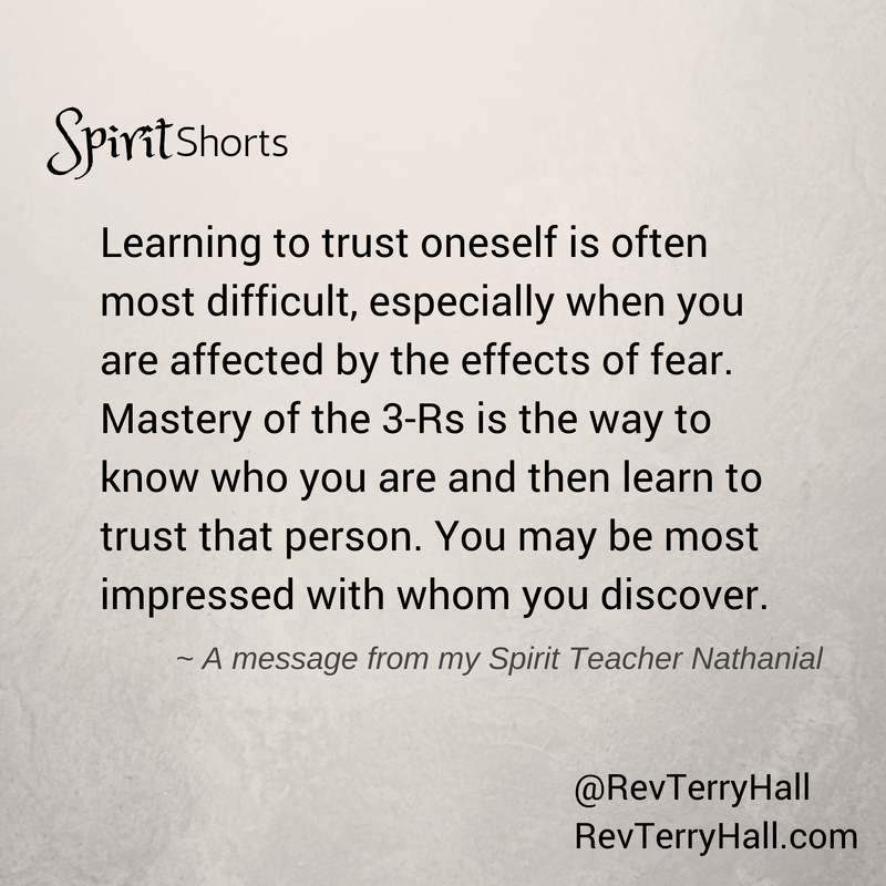 spiritual quotes about trusting yourself