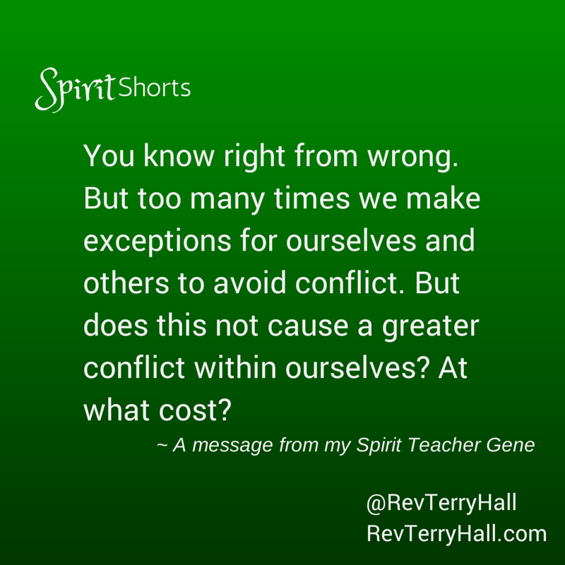 Avoiding Conflict Quotes From Spirit Spiritual Growth Made Simple