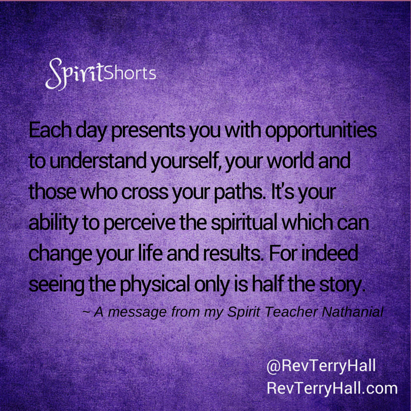 a message from spirit about opportunity