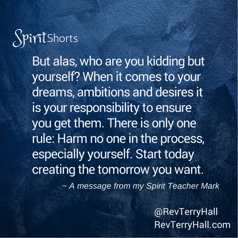a message about responsibility from mark a spirit teacher of psychic and medium terry hall