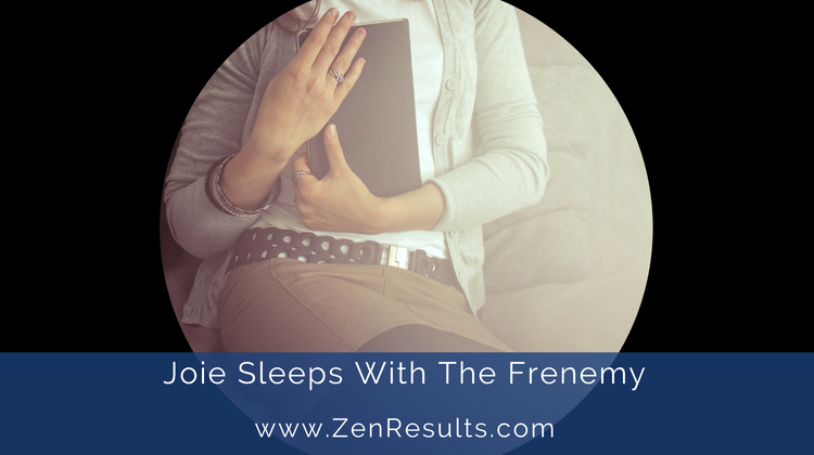 sleeping with the frenemy by ts hall